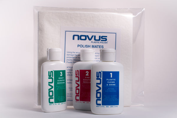 NOVUS Polishes and Polish Mate cloths