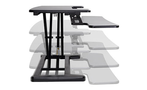 X-Cove height move Sit-Stand Desk converter deskstand standing desk furniture
