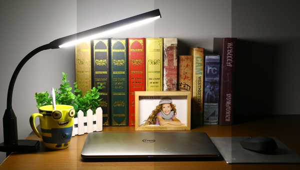 The Clamp Lamp – perfect for reading, working or as study lamp.