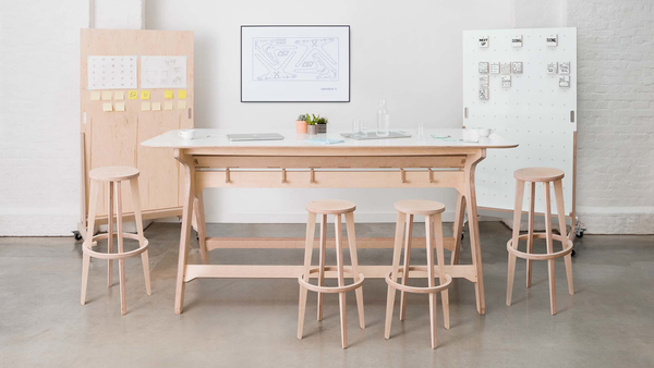 The Breakout Table, perfect for engaged and productive stand up meetings.