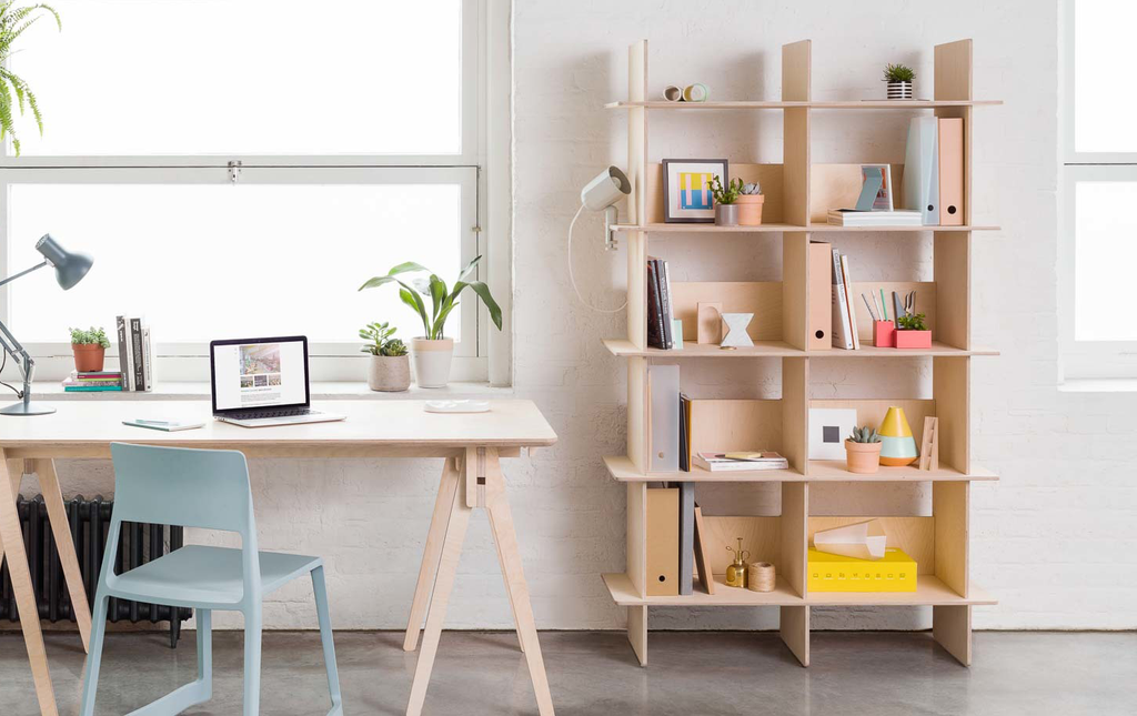 linnea bookshelf opendesk design book shelf wood 4