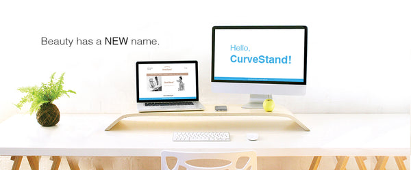 CurveStand - Dual Monitor!