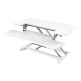 X-Cove converter standing desk varidesk height white adjustable standing deskstand furniture