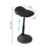 specs Ergonomic, Perch Chair stool moves with body height-adjustable active sitting standing desk chair stool1b