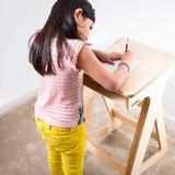 pre-school height adjustable sitstand standing desk for children