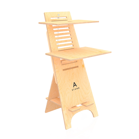 A-Stand Home Office Standing Desk Stand SitStand Compact Desk Furniture Adjustable Height