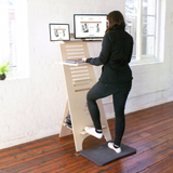 AStand Standing Desk Sit Stand Compact Desk