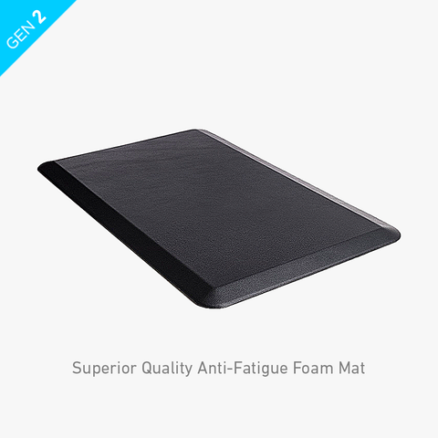 Gorilla Grip Anti-Fatigue foam mat Ergonomically engineered from the Highest-grade foam designed standing desk DeskStand