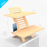 JUMBO DeskStand PLUS Anti-Fatigue Mat COMBO