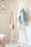 Coat rack hat stand rack tree branch