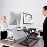 X-Cove sitstand desk height adjustable converter standing deskstand furniture premium