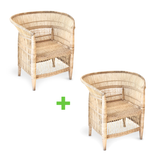 Single-Seater Traditional Malawi Cane Chair [Support Initiative]