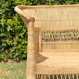 Malawi Cane Chair Furniture stool woven