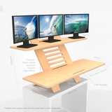 MegaX3 Standing DeskStand Sit Stand Compact Desk furniture