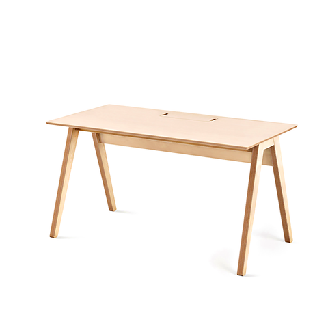 Studio desk ergonomic study space flat pack