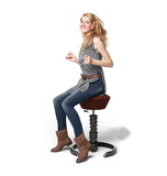 Swopper height adjustable stool chair office ergonomic