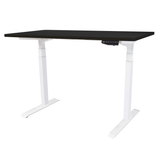 TEKDESK electric standing desk height adjustable sit stand desk south africa black