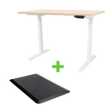 TEKDESK electric standing desk height adjustable sit stand desk south africa