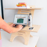 JUMBO DeskStand PLUS Anti-Fatigue Mat sit-stand furniture