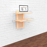 WallStand Standing Desk that is height adjustable