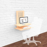 WallStand Standing Desk that is height adjustable table furniture