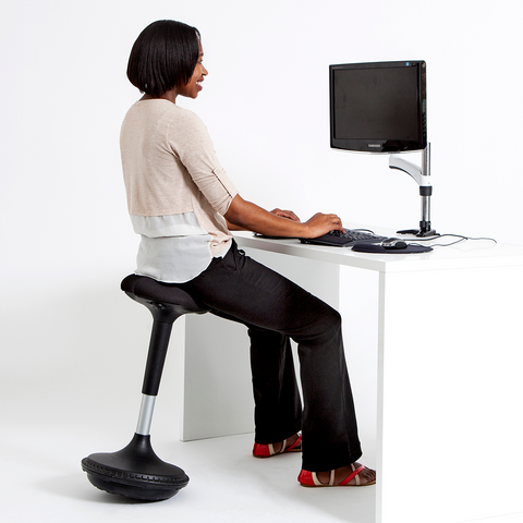 ... Wobble Stool Height Adjustable Stool DeskStand Standing Desk ...