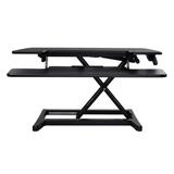 X-Cove sitstand desk height adjustable converter standing deskstand furniture
