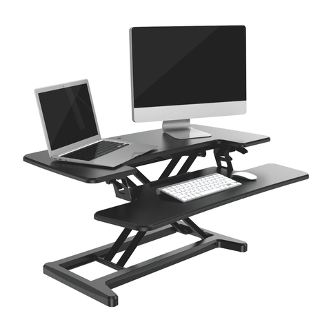 X-Cove converter sitstand desk height adjustable standing deskstand furniture