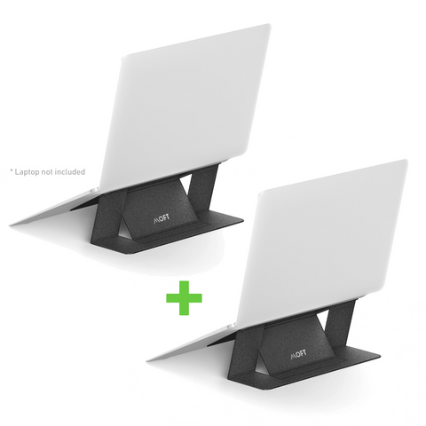 2 x MOFT - Adhesive Foldable Laptop Riser Stand COMBO