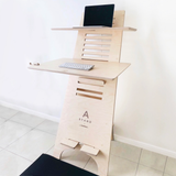 standing desk deskstand south africa furniture ergonomic office cape town AStand standing desk deskstand table