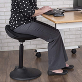 tilt Ergonomic, Perch Chair stool moves with body height-adjustable active sitting standing desk chair stool7