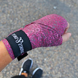 PINK LEOPARD BOXING WRAPS