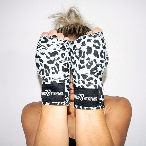 LEOPARD BOXING WRAPS
