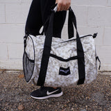Marble Duffel Bag
