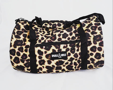 Cheetah Duffel Bag