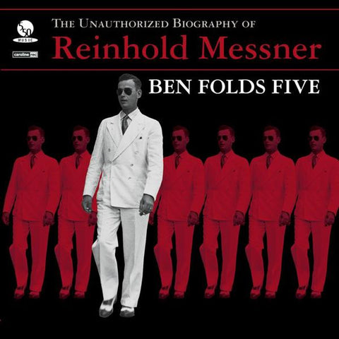 Ben Folds Five - The Unauthorized Biography of Reinhold Messner (180 Gram Black Vinyl Record) ***CURRENTLY ON BACKORDER***