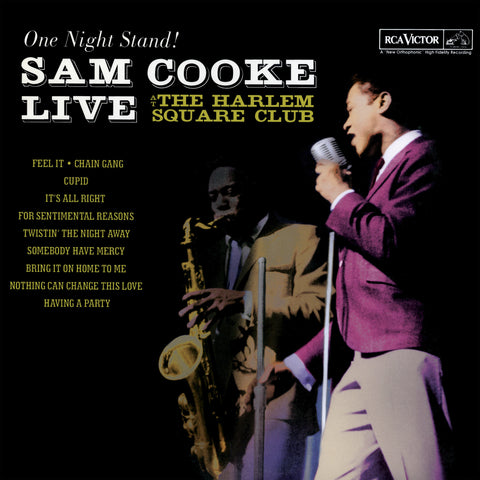 Sam Cooke - One Night Stand: Live at The Harlem Square Club (180 Gram Vinyl Record)