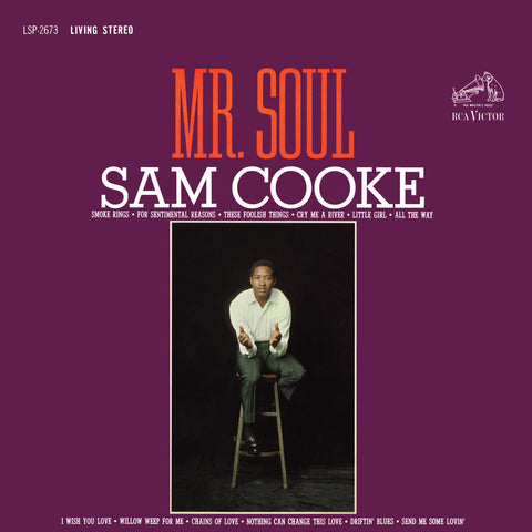 Sam Cooke - Mr. Soul (180 Gram Vinyl Record)