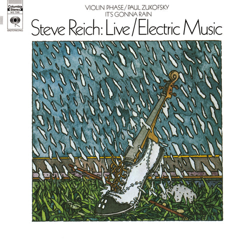 STEVE REICH - LIVE/ELECTRIC MUSIC (180-GRAM VINYL RECORD) ***PRE-ORDER***