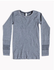 Топ ALO YOGA - NORTH STAR / CHARCOAL HEATHER