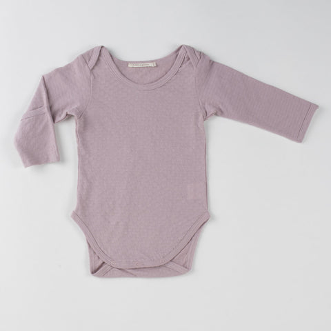 TANE Pointelle Onesie with Handcovers