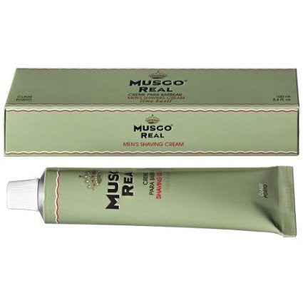 "Claus Porto Musgo Real ""Lime Basil"" Shaving Cream"