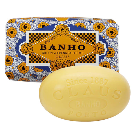 "Claus Porto ""Banho"" Citrus Verbena Oversized Bath Soap Bar"