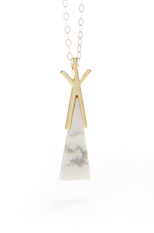 Muskoka Nord Eryn Teepee Necklace