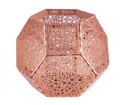 Tom Dixon Etch Tea Light Holder Copper