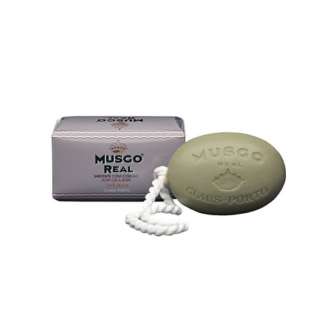 "Claus Porto Musgo Real ""Oak Moss"" Soap on a Rope"