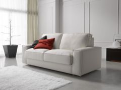 Sofa a buen precio en Madrid - modelo Cloud en tela color blanco