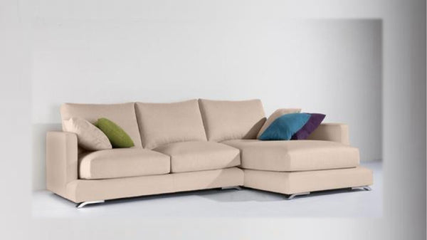 Chaiselongue modelo ARUBA en tela Aquaclean color Beige