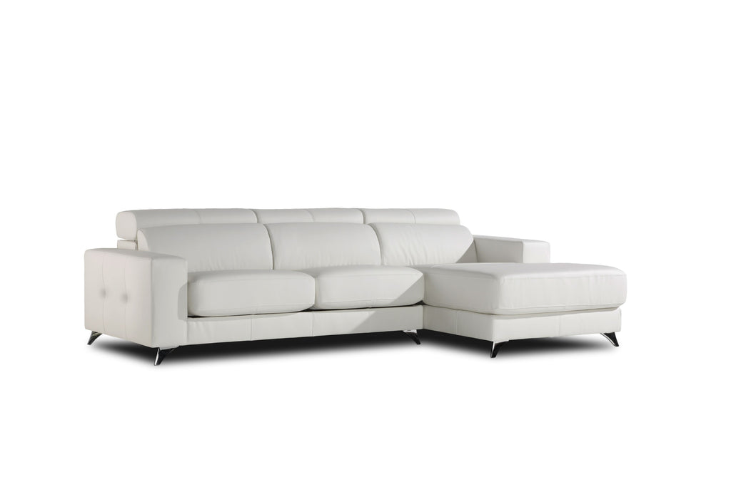 Chaiselongue modelo BEVERTON en Piel (Composición Grande)