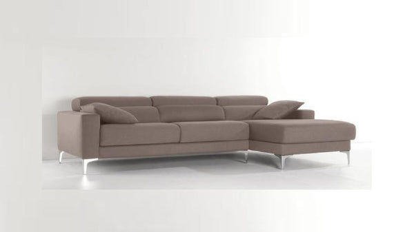 Chaiselongue modelo HUDSON en tela color Arena
